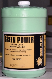 Sun Chem Green Power Hand Cleaner