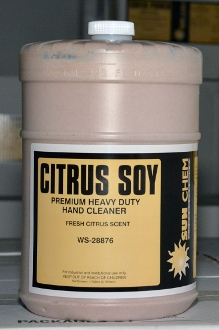 Sun Chem Soy Select Hand Cleaner